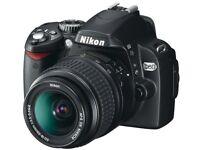 Nikon D60 SLR Camera 📸 Excellent condition...