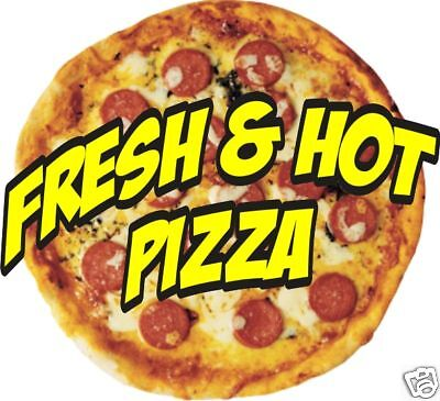 Pizza Italian Restaurant Concession Food Truck Decal Sticker Sign 14