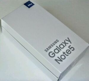 Brand New Samsung Galaxy Note 5 64GB Black Sapphire