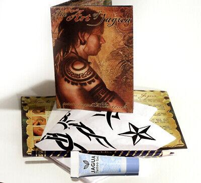 Nuovo Jagua Henné Nero Tatuaggi Temporanei Starter Kit Come Usato IN TV & Film