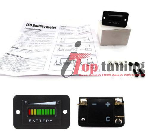 36v volt battery indicator meter gauge for ezgo club car yamaha golf cart moto. Black Bedroom Furniture Sets. Home Design Ideas