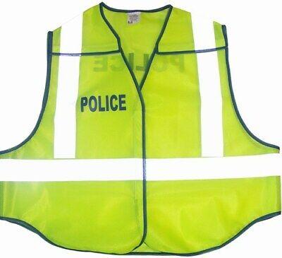Carolina Safety Sport Break-away Police Reflective Traffic Safety Vest Size Xl