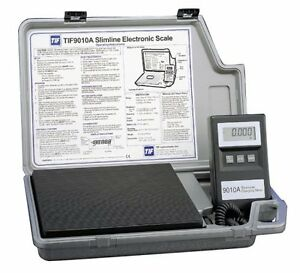 HVAC ELECTRONIC CHARGING SCALE TIF9010A