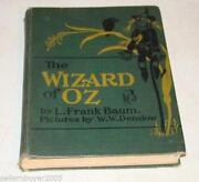 Antique Wizard of oz Book