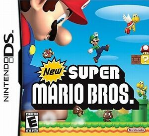 Nintendo DS New Super Mario Bros. Game Card Working with DS, DS Lite, DSi, 3DS