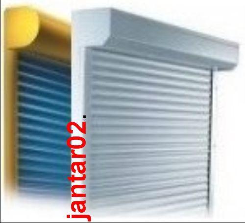Vorbaurollladen NACH -MAß -WAHL Elektro Funk Rollladen ( Alu Jalousie Rolltor )