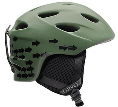 Giro Skihelm G9 jr mat olive arrows Gr. S ()