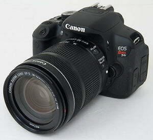 CANON T4i with 18-55MM LENS