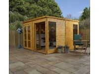 10x10 - Premium Pool House Garden Room - FREE DELIVERY