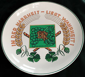 GERMAN COLLECTOR PLATE