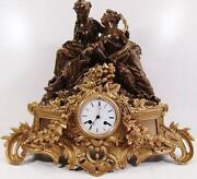 Antique Figural Clock