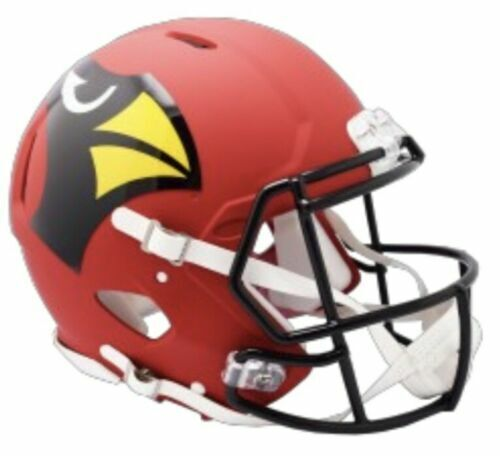 Arizona Cardinals Amp Alternate Riddell Speed Mini Helmet Ne