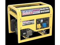 Generator sealey 2800 new