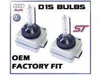 x2pc D1S XENON FACTORY BULBS FOR AUDIS, BMWS, VWS, OTHERS