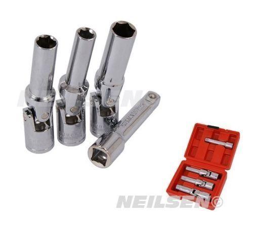 16mm Glow Plug Removal Socket 3//8 Drive Universal Joint Flexi Diesel Engine