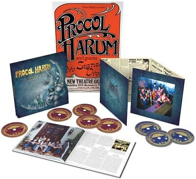 8e1cdd6926470 Procol Harum - Still There ll Be More  An Anthology 1967-2017  New CD  With  DVD