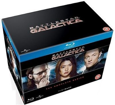Battlestar Galactica: The Complete Series Box Set Blu-ray Brand New