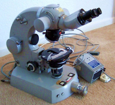 Zeiss Germany Microscope Max Erb 47 30 12 9902 Camera