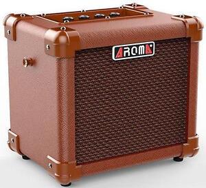 Amplificateur de guitare acoustique Aroma AG-10A 10W