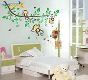 Removable Wall Decals Monkey