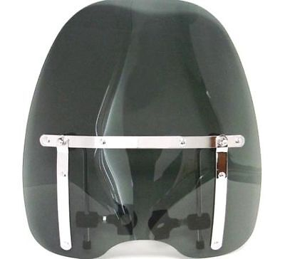 Smoke Tinted Windshield For Harley Davidson Sportster Dyna Glide Softail