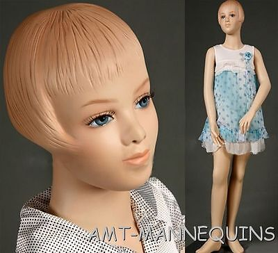 Child Mannequin Kid Manikin About 910 Years Old Hgt 55 Girl Mannequin - Pet
