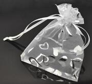 Heart Organza Bags