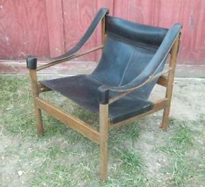 Mid Century Modern Wood Chair