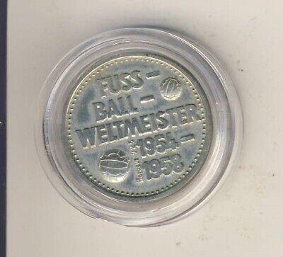 54) Medaille Fußball WM 1954 Weltmeister Herberger / Walter 925er Silber RAR online kaufen
