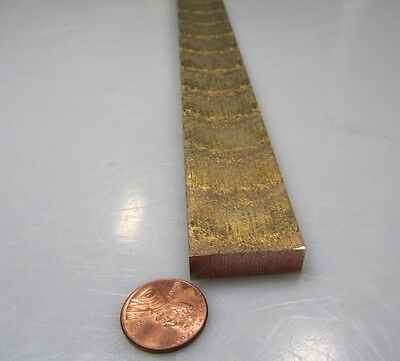 954 Bronze Oversize Flat Bar 14 Thick X 1.0 Wide X 36.0 Length