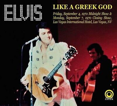 Elvis Like A Greek God 2xCD Straight Arrow Live 1970 PRE ORDER Brand New  ()