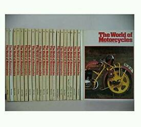 MOTORCYCLE ILLUSTRATED ENCYCLOPEDIA BOOKS