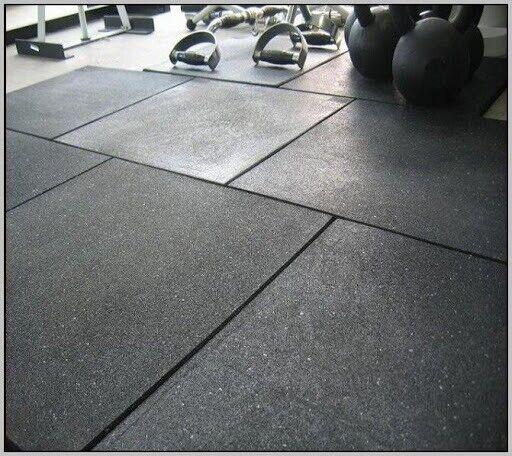 Rubber Floor Tiles Gym Flooring 20mm