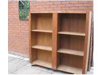 FREE large wooden storage unit for garage or shed.