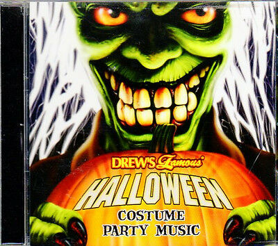Drew's Famous HALLOWEEN COSTUME PARTY MUSIC & BONUS SPOOKY SOUND EFFECTS CD! OOP ()