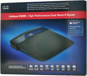 Vends Linksys E3200 - High performance dual-band N router