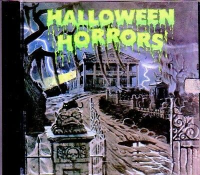 HALLOWEEN HORRORS: THE STORY AND SOUNDS OF HALLOWEEN (1977) RARE CLASSIC A&M CD!
