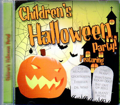 Halloween Music With Sound Effects (CHILDREN'S HALLOWEEN PARTY: KIDS MUSIC WITH 10 BONUS SCARY SOUND EFFECTS!)