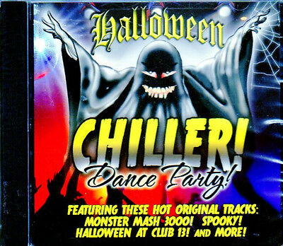 Hollywood Haunts presents: HALLOWEEN CHILLER DANCE PARTY! SPOOKY & FUN MUSIC CD! (Halloween Music Dance)
