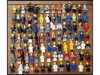 Lego Mini Figures x 195 Lego Storage Head