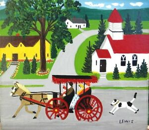 Maud Lewis paintings or Christmas cards for CASH