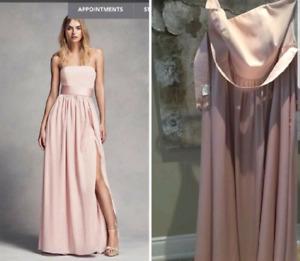 Alfred Sung Blush Colour Dress