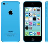 IPHONE 5C 16GB NEW/NEUF BELL/VIRGIN WITH/AVEC GAURANTY