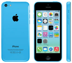 Blue iPhone 5C with otter box