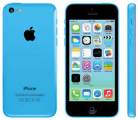 Blue iPhone 5c, 16 gb, Telus/Koodo, no contract *BUY SECURE*