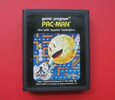 Pac-Man Atari 2600 Game *Cleaned & Tested* Pacman
