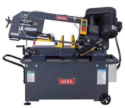 Dake Se912 9 1hp 1ph 110v Metal Cutting Horizontal Bandsaw