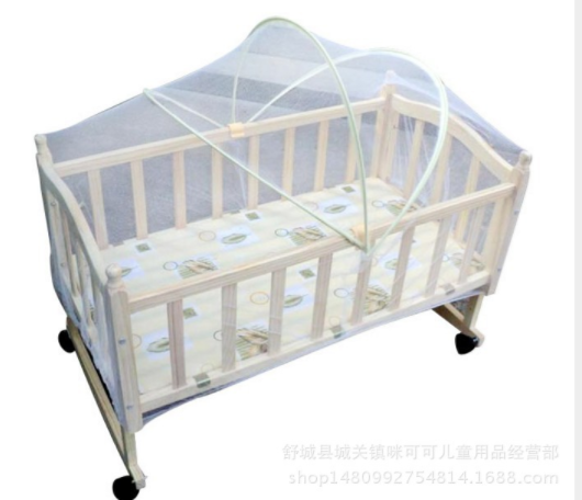 Mesh Mosquito Curtain Net Arched netting For baby Toddler Cr