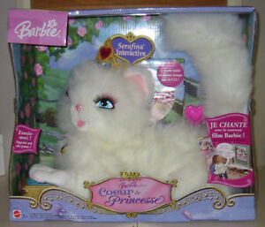 CHAT PARLANT BARBIE SERAFINA INTERACTIVE AVEC CD JOUET NEUF