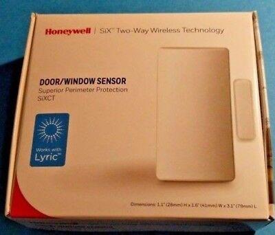2 BRAND NEW Honeywell SiXCT: Two-Way Wireless Technology- Door/Window Sensor